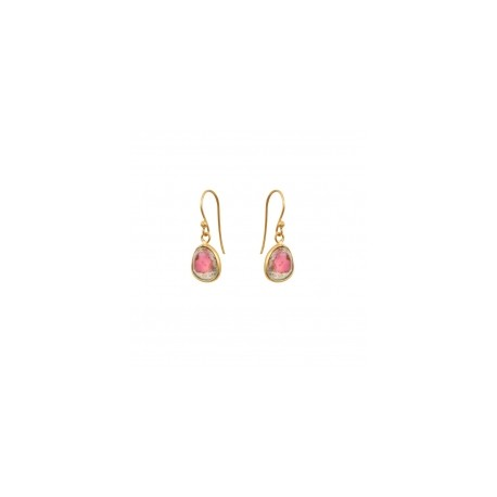 Uma watermelon tourmaline earrings