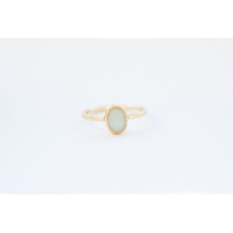 Ring with turquoise stone