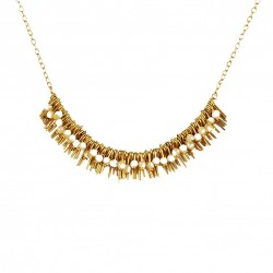 Necklace Lisa - beige
