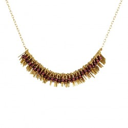 Necklace Lisa - violet