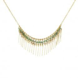 Necklace Gloria - light green