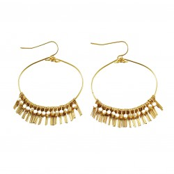 Earrings Lisa - beige