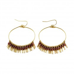 Earrings Lisa - violet