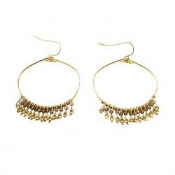 Earrings Nina - grey