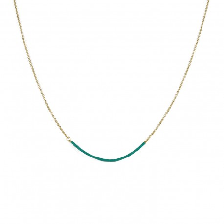 Necklace Teal - teal